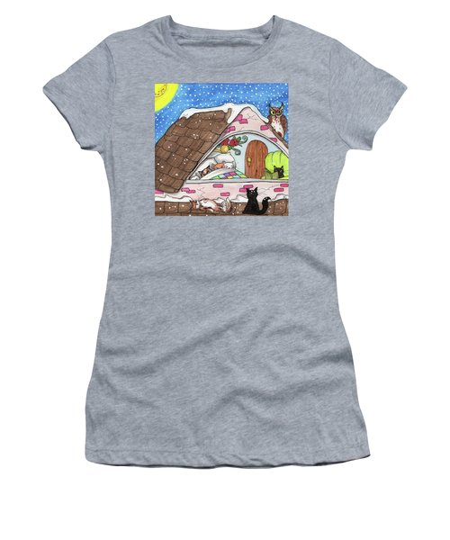 Cat Condo Women's T-Shirt (Athletic Fit)