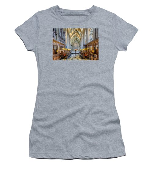 Cathedral Aisle Women's T-Shirt