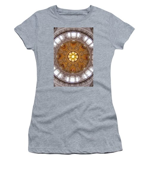 Women's T-Shirt (Athletic Fit) featuring the photograph Cathedral Dome  by Geoff Smith