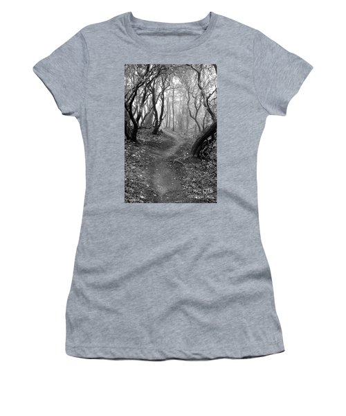 Cathedral Hills Serenity In Black And White Women's T-Shirt