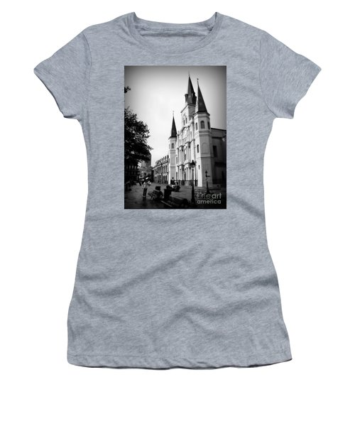 Cathedral Morning 2 Women's T-Shirt (Athletic Fit)