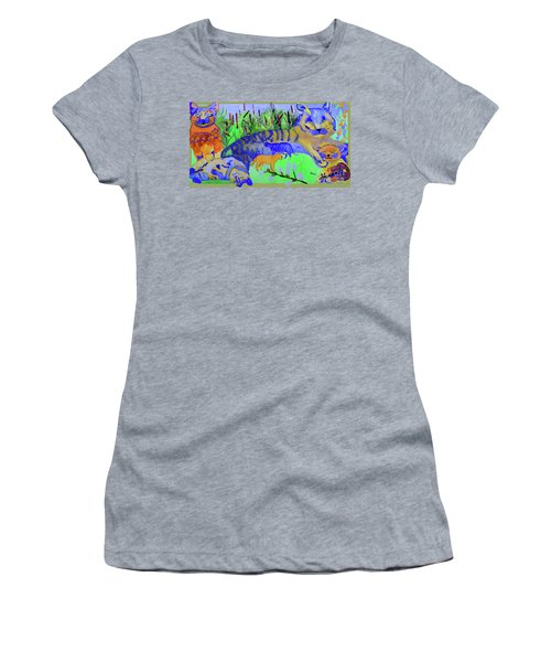 Cats And A Fiddle Women's T-Shirt (Athletic Fit)