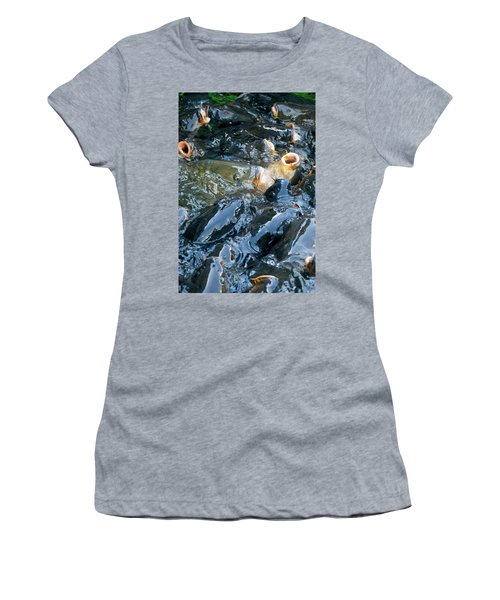 Caught In The Masses Women's T-Shirt