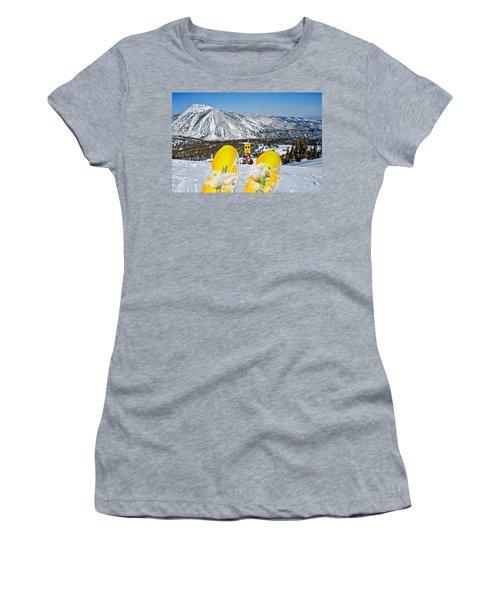 Caution Women's T-Shirt (Athletic Fit)