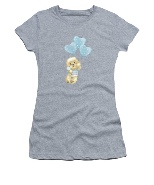 Cavapoo Toby Baby Women's T-Shirt (Athletic Fit)