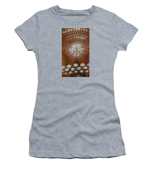 Ceiling Of Syndey Opera House Symphony Hall Women's T-Shirt (Junior Cut) by Bev Conover