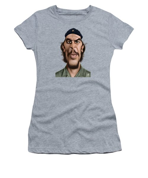 Celebrity Sunday - Che Guevara Women's T-Shirt (Junior Cut) by Rob Snow