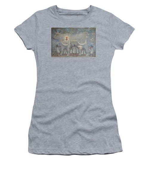 Celestial Cow Women's T-Shirt