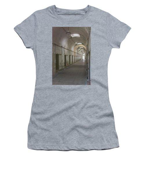 Cellblock Hallway Women's T-Shirt