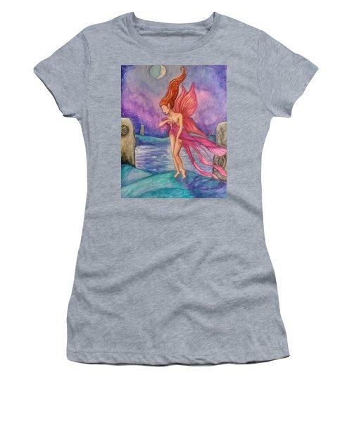 Celtic Moon Women's T-Shirt (Athletic Fit)