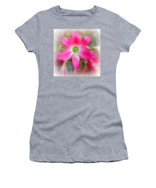 Women's T-Shirt (Junior Cut) featuring the photograph Center Attraction by Myrna Bradshaw
