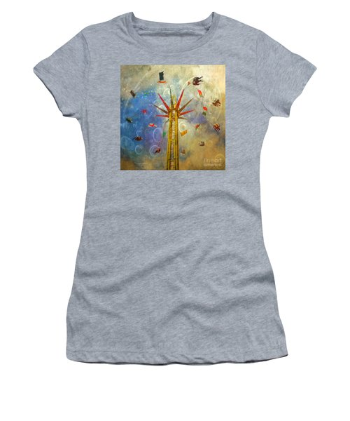 Centre Of The Universe Women's T-Shirt (Junior Cut) by LemonArt Photography