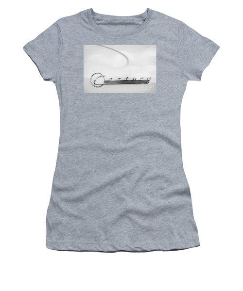 Women's T-Shirt (Junior Cut) featuring the photograph Century Monotone by Dennis Hedberg