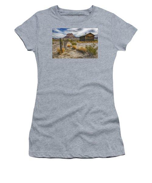 Cerro Castellan - Big Bend - Color Women's T-Shirt (Athletic Fit)