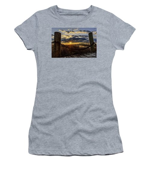 Chained View Women's T-Shirt