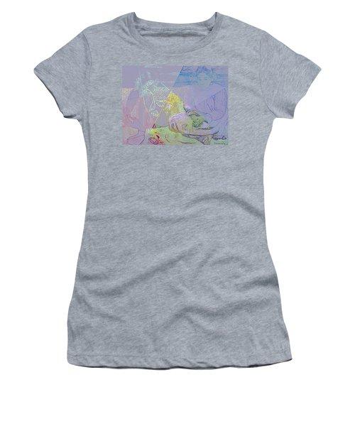 Chalkboard Women's T-Shirt (Athletic Fit)