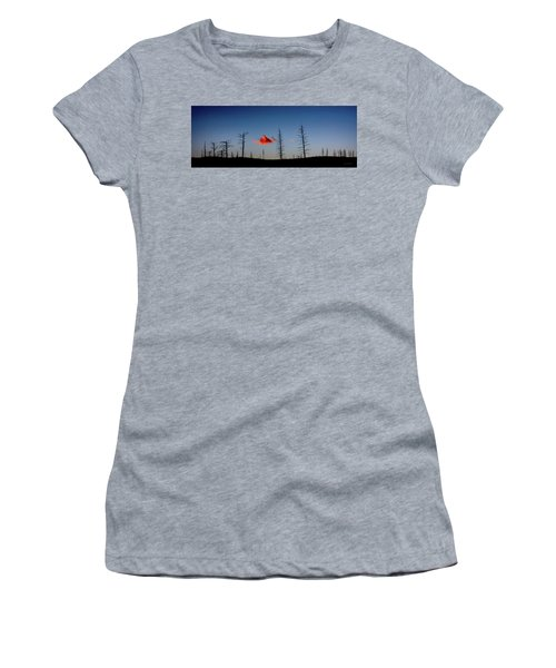 Charred Sunset Women's T-Shirt (Athletic Fit)