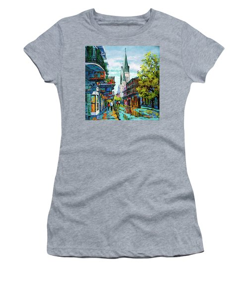 Chartres Glow Women's T-Shirt (Athletic Fit)