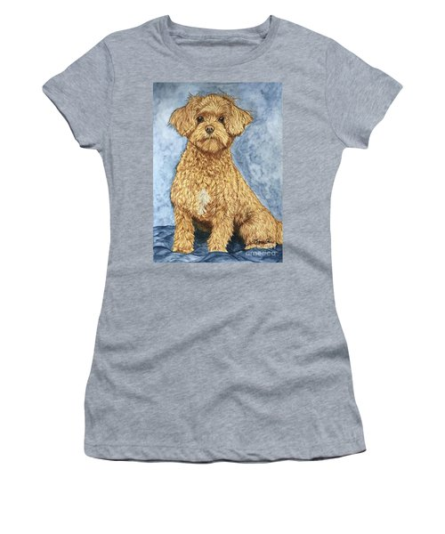 Chase The Maltipoo Women's T-Shirt (Athletic Fit)
