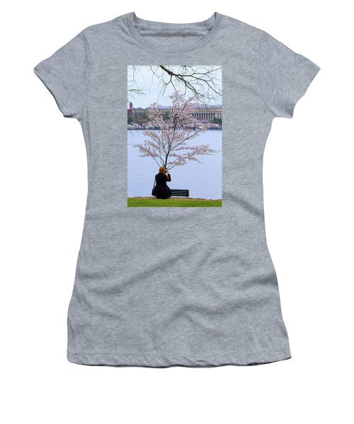 Chasing Blossoms Women's T-Shirt