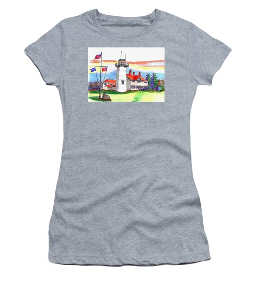 Chatham Lighthouse Women's T-Shirt (Athletic Fit)