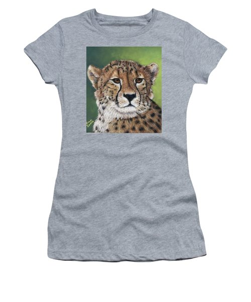 Cheetah Women's T-Shirt (Athletic Fit)