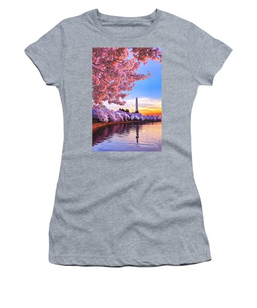 Cherry Blossom Festival  Women's T-Shirt (Athletic Fit)