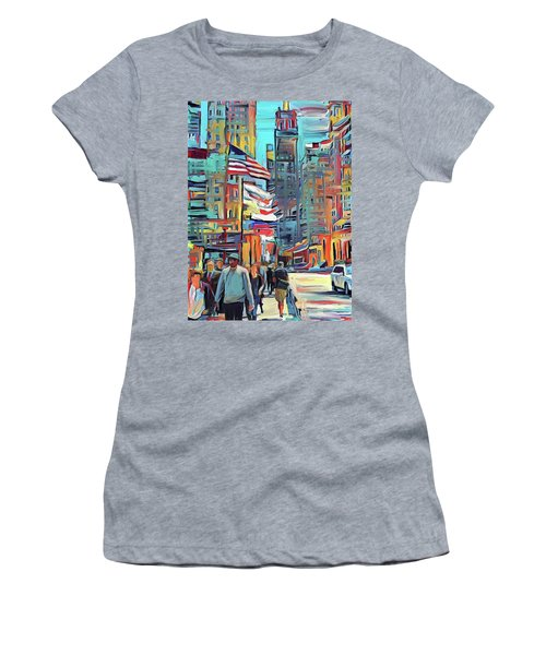Chicago Colors 5 Women's T-Shirt (Athletic Fit)