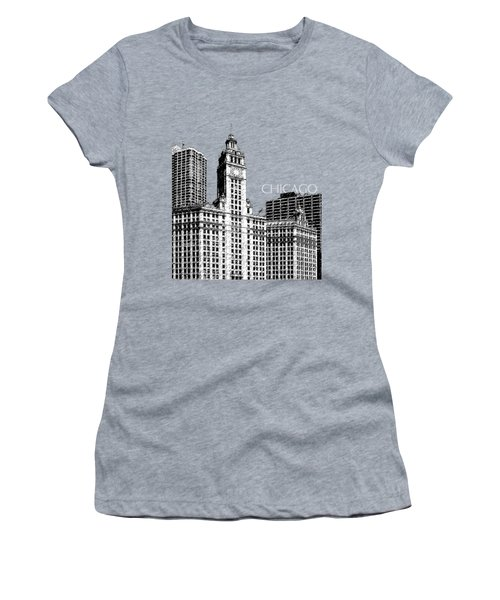 Chicago Wrigley Building - Salmon Women's T-Shirt (Athletic Fit)