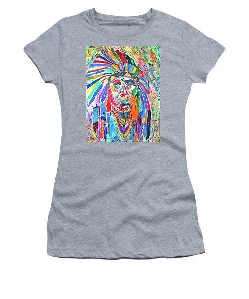 Chief Joseph Of The Nez Perce Women's T-Shirt