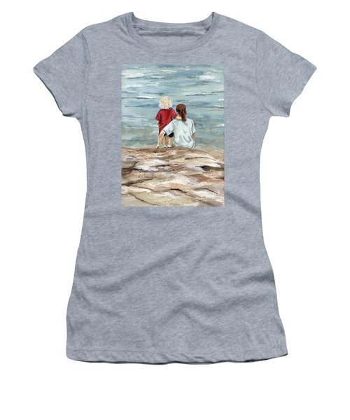 Children By The Sea  Women's T-Shirt (Athletic Fit)
