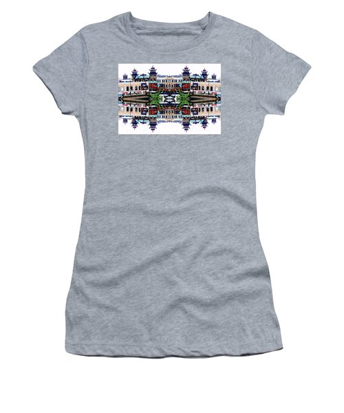 Chinatown Chicago 2 Women's T-Shirt (Athletic Fit)