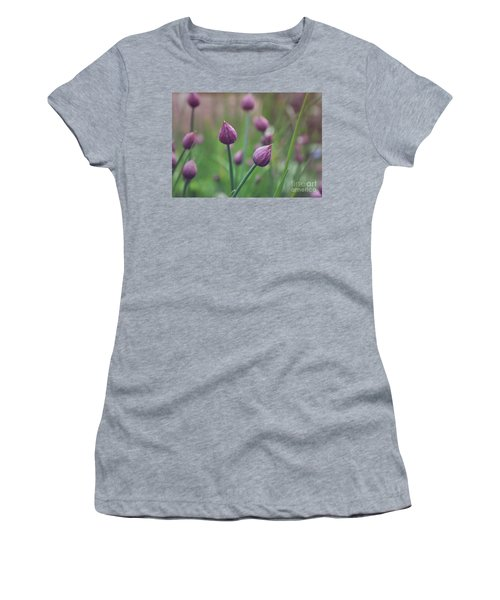 Chives Women's T-Shirt (Junior Cut) by Lyn Randle