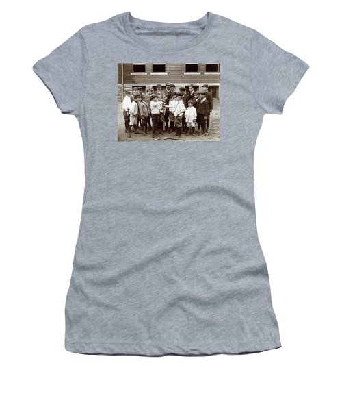 Choosing Baseball Teams Women's T-Shirt