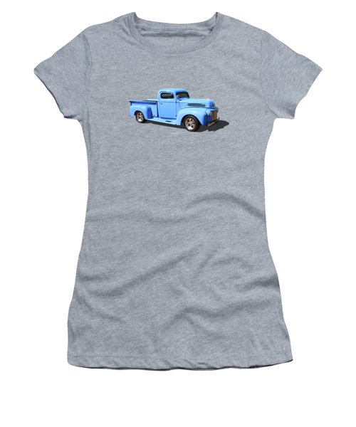 Chop Top Pickup Women's T-Shirt (Athletic Fit)