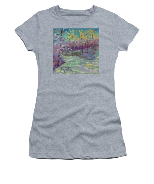 Christmas Day Sketch Women's T-Shirt (Junior Cut) by Rae  Smith PAC