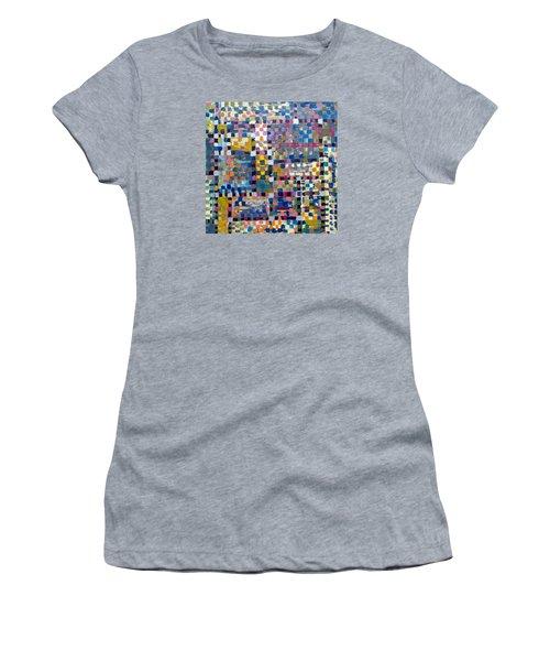 Chromatic Indulgence Women's T-Shirt (Junior Cut) by Paul Moss
