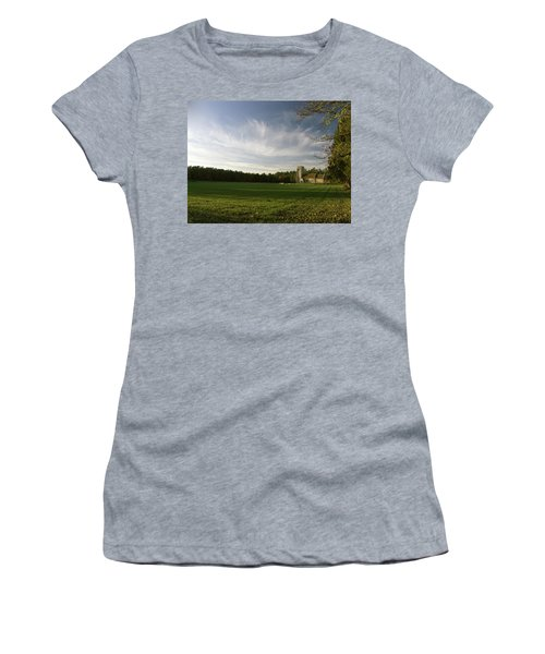 Church On The Edge Of A Forest Women's T-Shirt