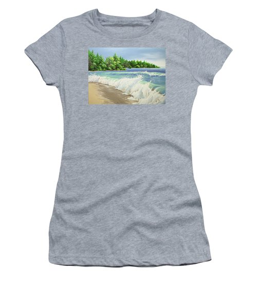 Churning Sand  Women's T-Shirt