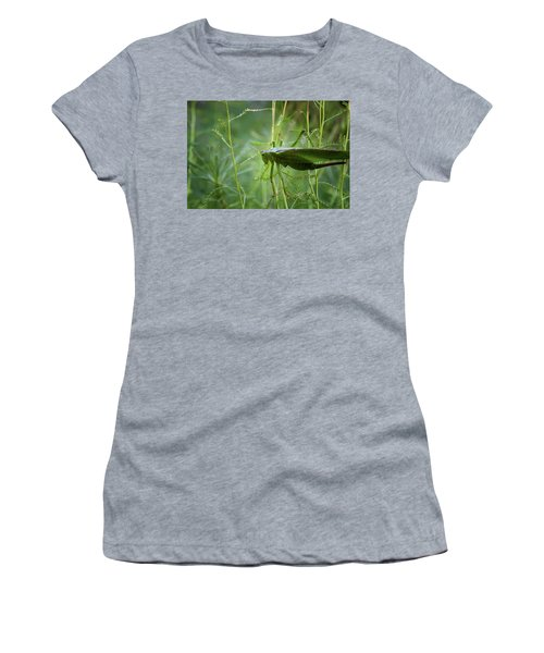 Women's T-Shirt (Athletic Fit) featuring the photograph Cinq Pattes by Rasma Bertz