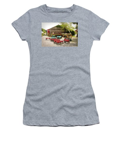 Circle The Wagons Women's T-Shirt