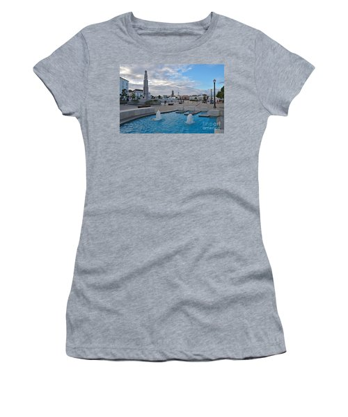 City Center Of Tavira Women's T-Shirt (Athletic Fit)