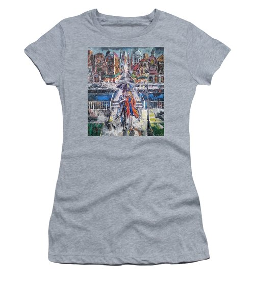 City For Two Women's T-Shirt (Athletic Fit)
