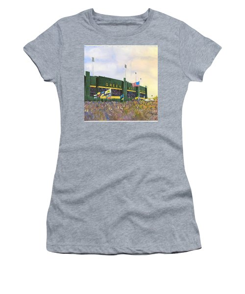Classic Lambeau Women's T-Shirt (Athletic Fit)