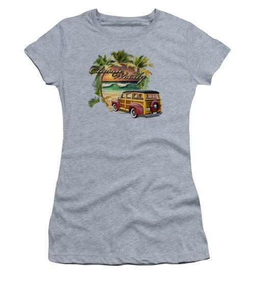 Classic Woody Women's T-Shirt (Junior Cut) by Rob Corsetti