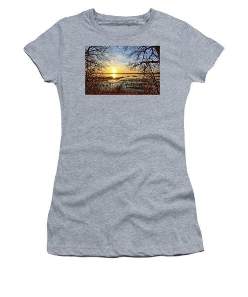 Clear Lake Sunrise 3 Women's T-Shirt