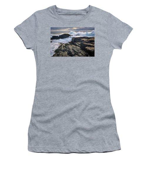 Clearing Storm At Bald Head Cliff Women's T-Shirt (Junior Cut) by Rick Berk