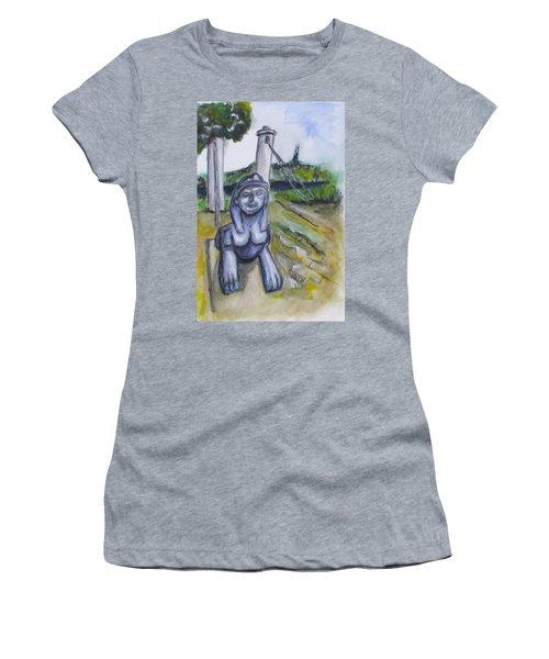Cleopatra Bridge Ruins, Gaeta Italy Women's T-Shirt (Junior Cut) by Clyde J Kell