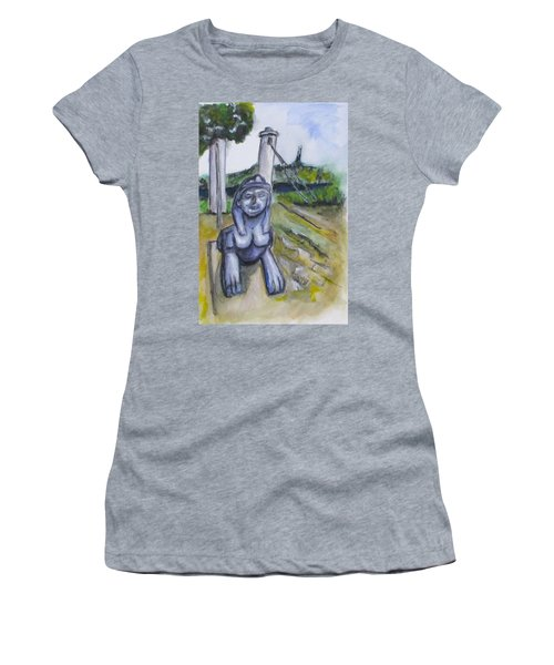 Cleopatra Bridge Ruins, Gaeta Italy Women's T-Shirt (Athletic Fit)