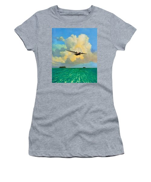 Clipper Over The Islands Women's T-Shirt (Athletic Fit)
